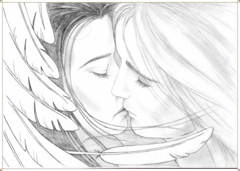 Elwing and Earendil by Airendis