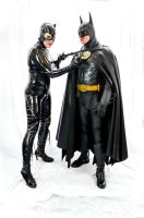 Catwoman and Batman by Studio5Graphics