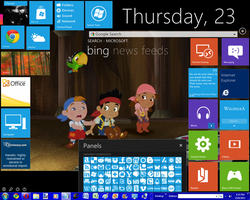 Windows 8 Metro tiles FTW XD by InsidiouslyJake