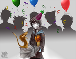 The first birthday is the best birthday by SpyxedDemon