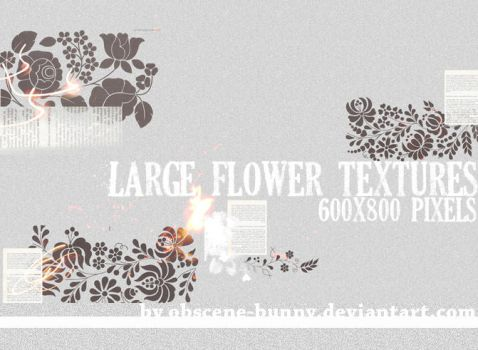 Large Flower Textures 02 by obscene-bunny