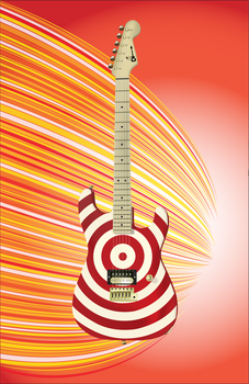 Illustrator Guitar by mpckh2