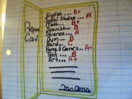 Report Card by Twins429