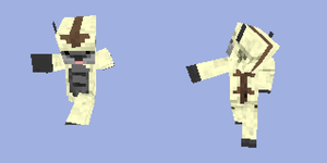 Minecraft Skin 1: Appa by Raxona