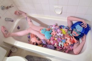 My Little Pony Bath by drewhoshkiw