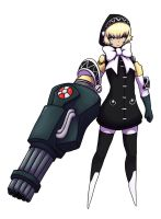 Hexfusion - Strength+ Aigis by dragonmanX