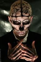 Zombie Boy Cosplay: Dead Stare by Bllacksheep