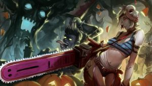 [LOL] Riven Halloween by iorlvm