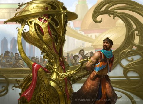 Revoke Privileges - MtG Kaladesh by namesjames