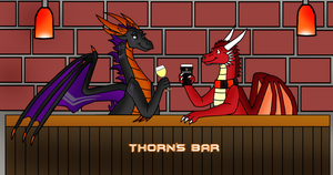 Gift:  Thorn and Sev by Thornacious