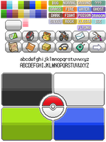 Pokemon Menu Maker Kit by OrdinLegends