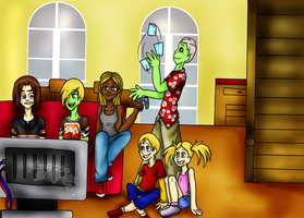 Smith's House After School by Ninja-frog