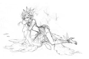 League of Legends - IPL5 Doodles 02 by Leafa