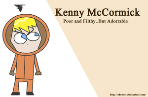 Kenny McCormick by Skeeett