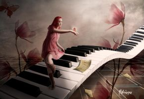 Butterfly Dance by Adriana-Madrid