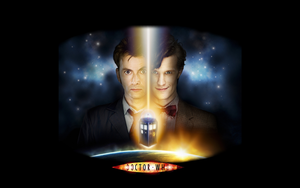 Tenth and Eleventh Doctors by XargonWan