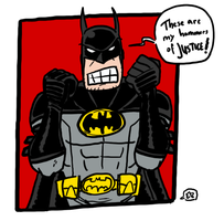 tumblr-doodle Batman by theEyZmaster