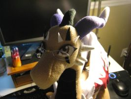 Shalone Dragon Plush Progress by DragonCid