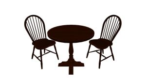 MMD Table and Chair Download by 9844