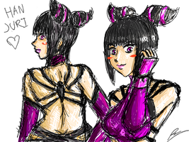 random juri with back view by borockman