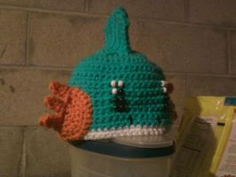 Mudkip hat by TinyHatter