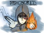 Dishonored (Final Sketch) by PyrodianBrony