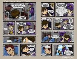 FNAF4 Comic - House Party - Page 42 - 12-23-16 by Mattartist25