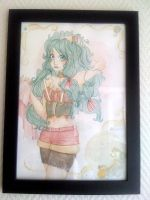 Framed commission - 1 by Liaze