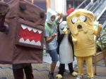 ADVENTURE TIME and domo by Xariana16