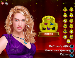 Kate Winslet Celebrity Makeover Game by willbeyou