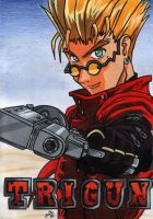 Vash the Stampede - Painting by cowgirlem
