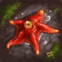 Lovecraftian star by Kaek
