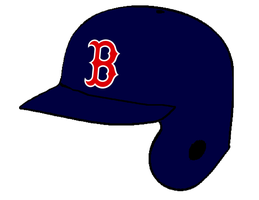 Boston Red Sox Batting Helmet by Chenglor55