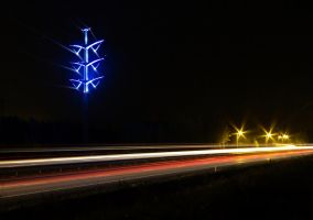 Electric pole by werneri