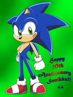 Sonic 20th Anniversary by D4V1N5