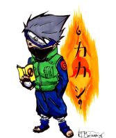 chibi kakashi full colored by SanfamProductions