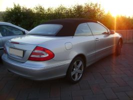 Mercedes Benz Cabriolet - back by CmacSTI
