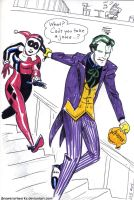 Whoopee Cushion (Joker, Harley) by JBrowerArtworks