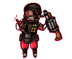 Chibi demoman by Pericote