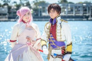 Code Geass - Princess Euphemia and Suzaku by Senra-Eclipse