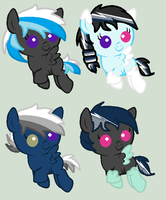 Thunder Blitz x Arctic Acrylic foals by iVui