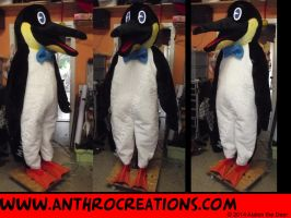 Pinguin 2014 Finish Costume Mascot by AtalontheDeer