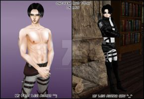 Levi Before and After by Levi-Ackerman-Heicho