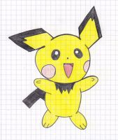 Pichu by LEEN1994