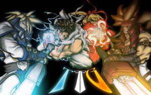 Guilty Gear Vs. Street Fighter by Driver2BM