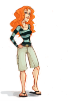Jenny the Red Head by TheFXGirl