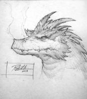 Puff the magic dragon by daysoframpage