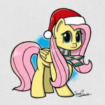 Christmas Shy by sheandog