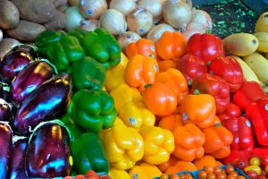 Vegetables at Pike Place Marke by gordo99