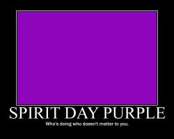 Spirit Day Motive. poster by Deon00777